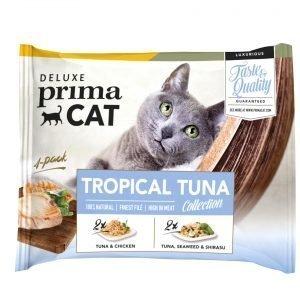 Deluxe Primacat Tropical Tuna 4 X 50 G Annospussit