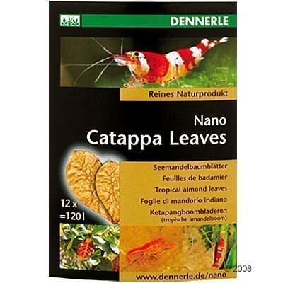 Dennerle Nano Catappa Leaves - 12 kpl
