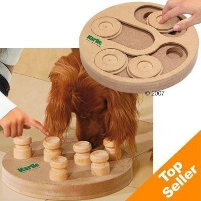 Doggy Brain Train 2in1 -aktivointilelu - pienikokoisille koiraroduille: Ø 25 cm