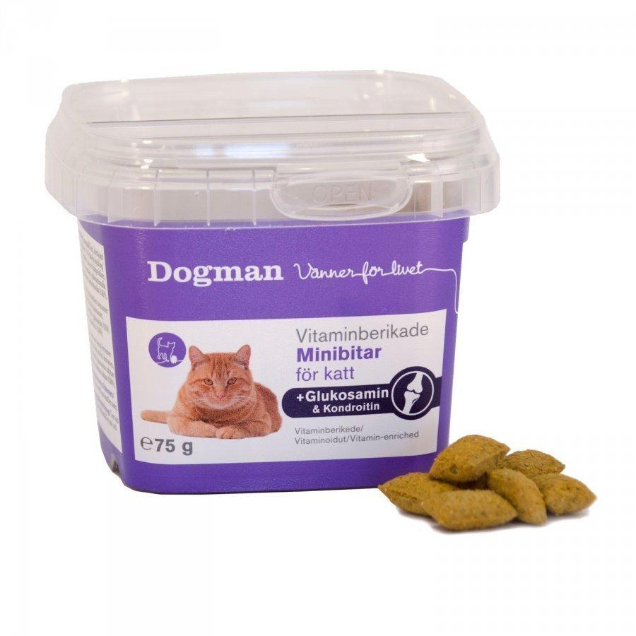 Dogman Katt Minibitar Glykosamin + Kondroitin 75g