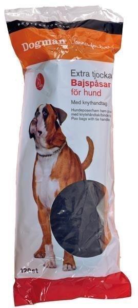 Dogman Professional Dogman Sangalliset Kakkapussit 120 Kpl
