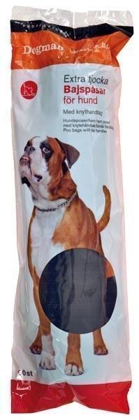 Dogman Professional Dogman Sangalliset Kakkapussit 60 Kpl