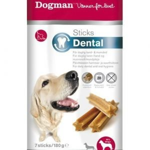 Dogman Sticks Dental M / L 7 Kpl / Pakkaus