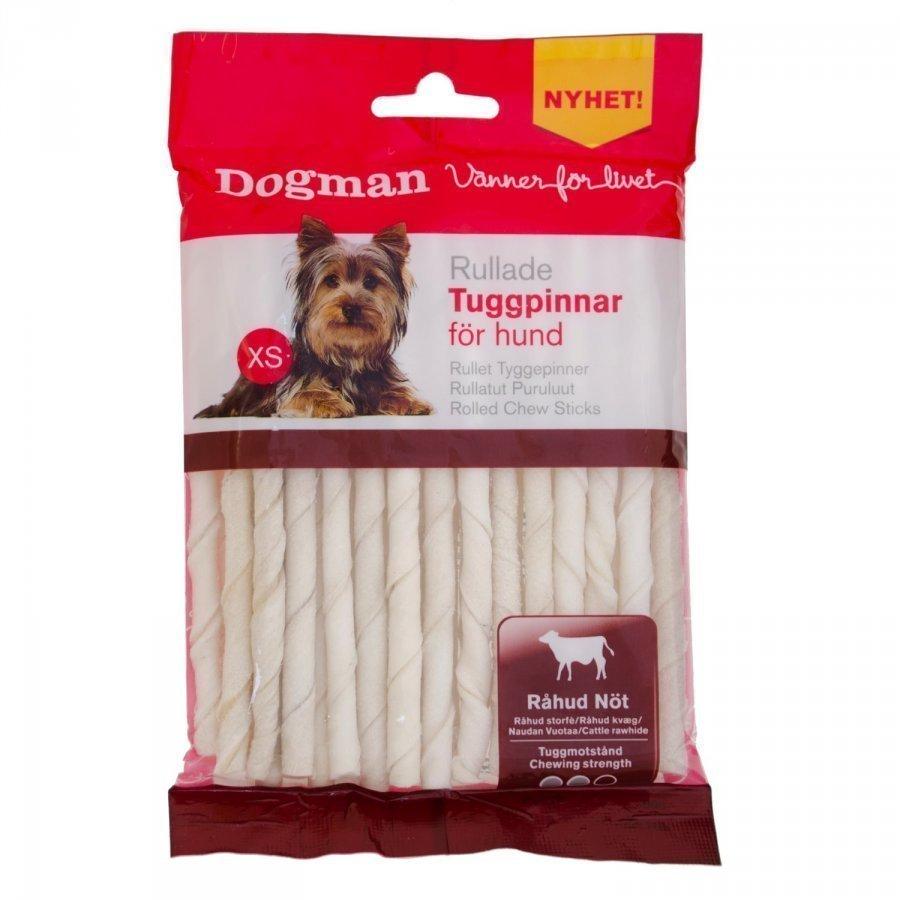 Dogman Tuggpinnar Vita 30 Pack Xs 120g
