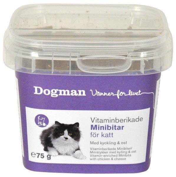 Dogman Vitamiinipitoiset Minipalat Kana & Juusto