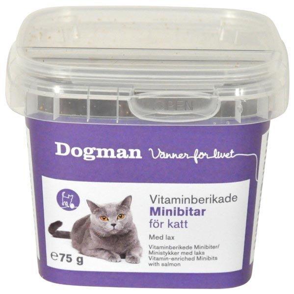 Dogman Vitamiinipitoiset Minipalat Lohi