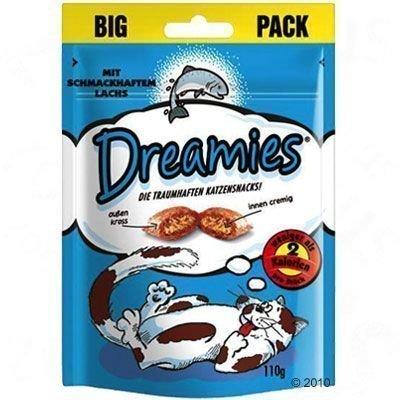 Dreamies Big Pack 180 g - säästöpakkaus: lohi (6 x 180 g)