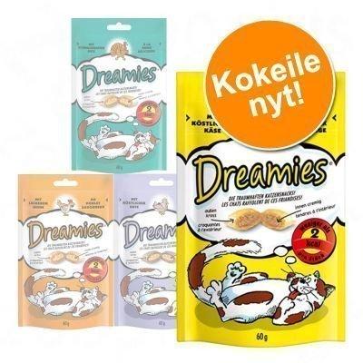 "Dreamies ""Dreamland"" -kokeilupakkaus 4 x 60 g - juusto"