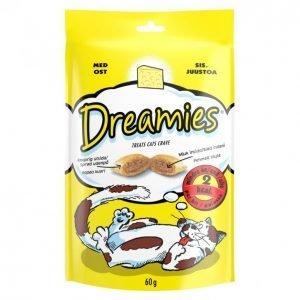 Dreamies Kissanruoka 60 G Juusto
