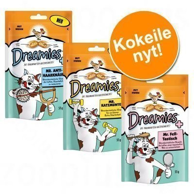 "Dreamies ""Mister Mix"" -kokeilupakkaus 6 x 55 g - Mr. Fell-Tastisch"