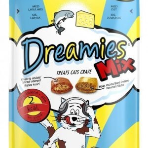 Dreamies Mix Lohi & Juusto 60 G