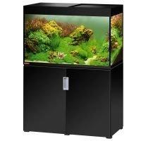 EHEIM incpiria 300 Aquarium - kiiltävän musta / metalllisen hopea