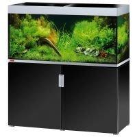 EHEIM incpiria 400 Aquarium - kiiltävän musta / metalllisen hopea