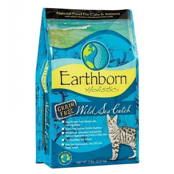 Earthborn Holistic Cat Wild Sea Catch 6