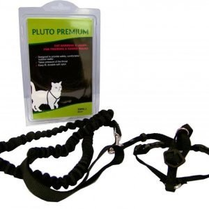Easy Walk Pluto Premium Cat Harness Musta