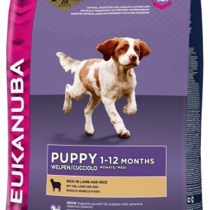 Eukanuba Dog Puppy Lamb & Rice 12kg