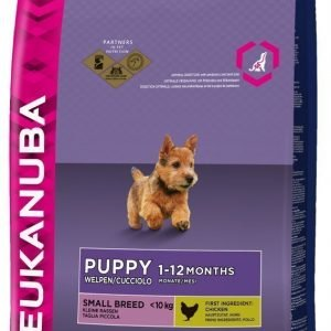 Eukanuba Dog Puppy Small 7