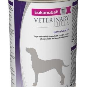 Eukanuba Veterinary Diets Dog Dermatosis Fp Burkmat 12x400 G
