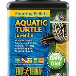 Exoterra Aquatic Turtle Juvenile Floating Pellets 540 G