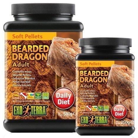 Exoterra Bearded Dragon Adult Soft Pellets 540 G