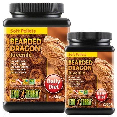 Exoterra Bearded Dragon Juvenile Soft Pellets 540 G