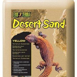 Exoterra Desert Sand Keltainen 4
