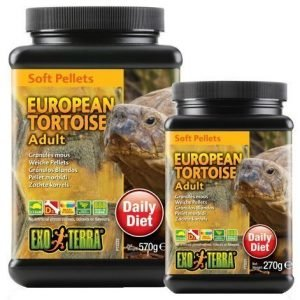 Exoterra European Tortoise Adult Soft Pellets 540 G