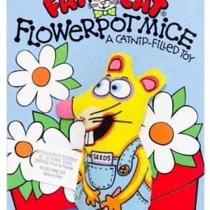 Fat Cat Flower Pot Mice