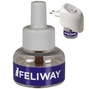 Feliway-täyttöpullo kulmikkaaseen haihduttimeen - täyttöpullo kuukaudeksi (24 ml) haihduttimeen