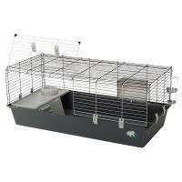 Ferplast Rabbit 120 -pieneläinhäkki - harmaa: P 118 x L 58