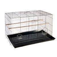 Finca Pequeno -lintuhäkki - musta: P 76 x L 45 x K 45 cm