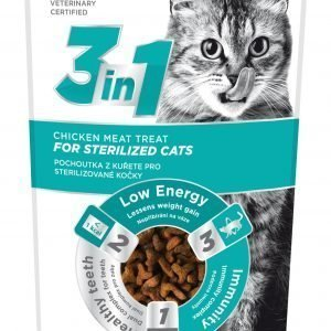 Fitmin 3in1 Cat Sterile Chicken 80 G Makupala