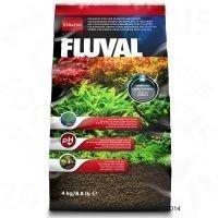 Fluval Stratum kasvi- ja katkarapuakvaarioihin - 2 x 4 kg
