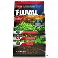 Fluval Stratum kasvi- ja katkarapuakvaarioihin - 4 kg