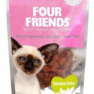 Four Friends Cat Chicken Cube 30g