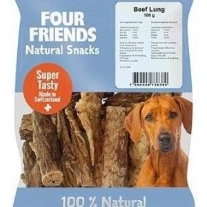 Four Friends Dog Beef Lung 800g