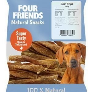 Four Friends Dog Beef Tripe 800g