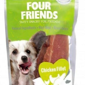 Four Friends Dog Chicken Fillet 100g