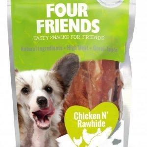 Four Friends Dog Chicken Rawhide 100g
