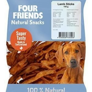 Four Friends Dog Lamb Sticks 800g