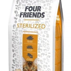 Four Friends Kissa Sterilized 6 Kg