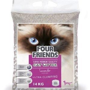 Four Friends Kissanhiekka Laventeli 14kg