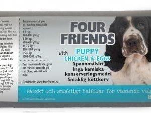 Four Friends Koira Lihamakkara Puppy 12x800g