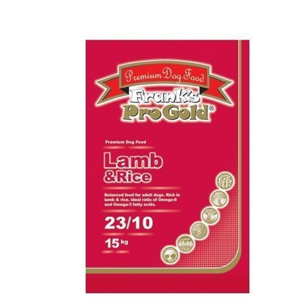 Frank's Pro Gold Lammas & Riisi 15 Kg Koiranruoka