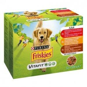 Friskies Friskies 12 X 100 G Adult Kastikkeessa