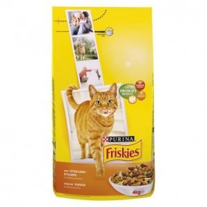 Friskies Kissanruoka 4kg Kana-Vihannes