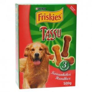 Friskies Koirankeksi 500g Tassu 3makua