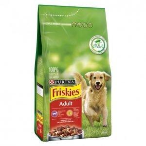 Friskies Koiranruoka 4kg Adult Liha