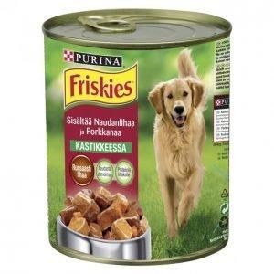 Friskies Koiranruoka 800g Naudanliha-Porkkana