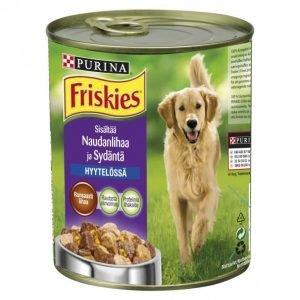 Friskies Koiranruoka 800g Nauta-Sydän Hyytelö